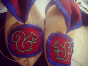 Moccasins for my son