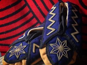 7 Pointed Star Moccasins